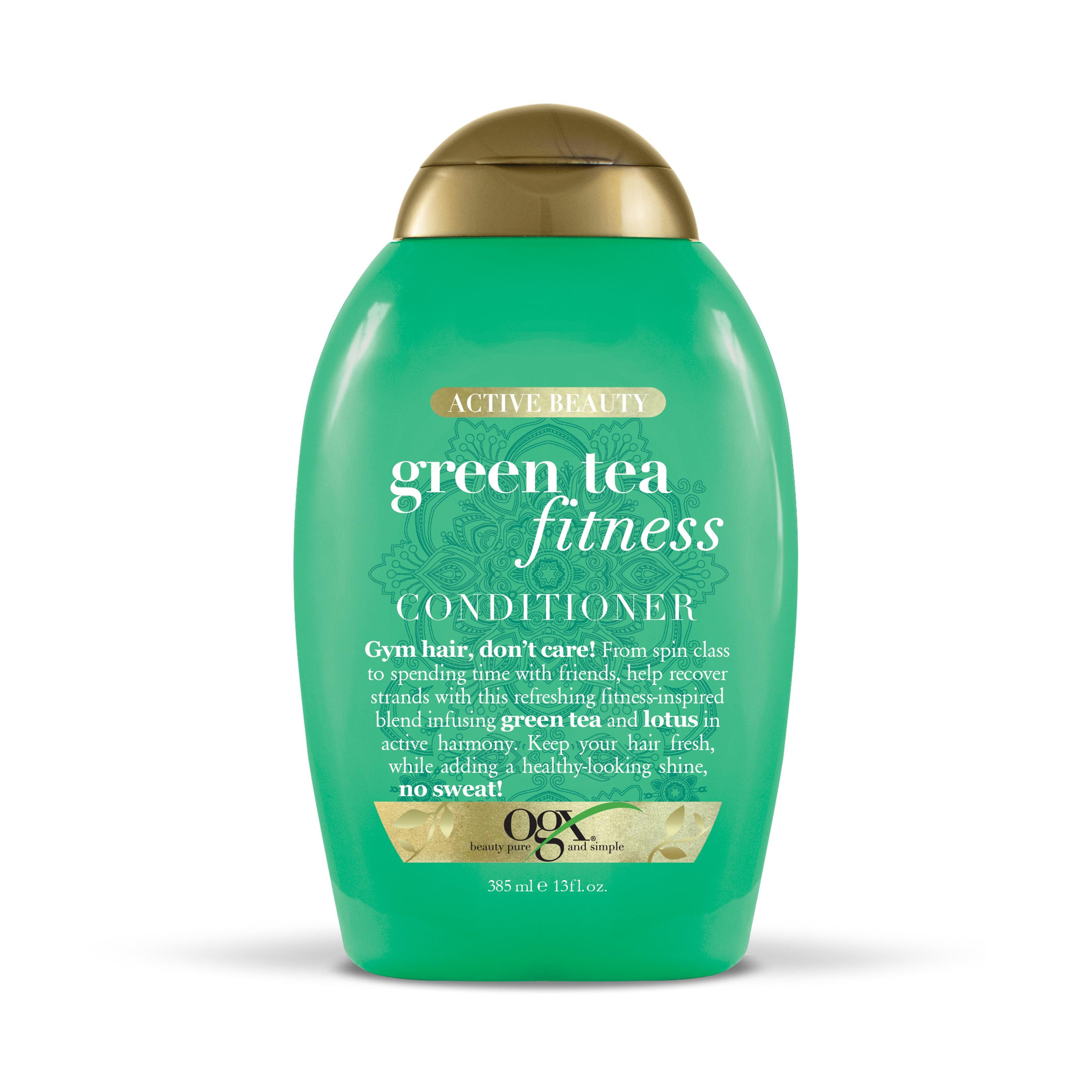 OGX Active Beauty Green Tea Fitness Conditioner, 13 oz