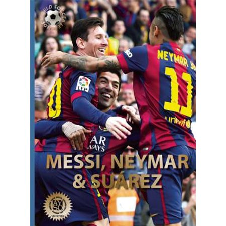 Messi, Neymar, and Suarez : The Barcelona Trio (Luis Suarez Barcelona Halloween)