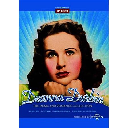 Deanna Durbin: The Music And Romance Collection - Mad About Music / That Certain Age / Three Smart Girls Grow Up / Because Of Him / For The Love Of Mary (Full (Opening To Rugrats All Growed Up 2001 Vhs)