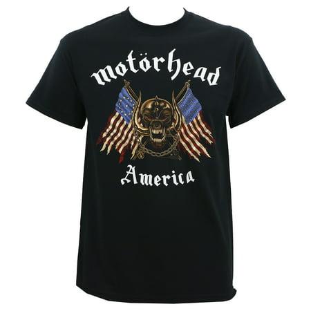 Motorhead Mens American Warpig T Shirt