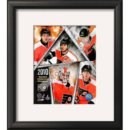 Philadelphia Flyers 2009-10 Eastern Conference Cha... Framed Photographic Print Wall Art