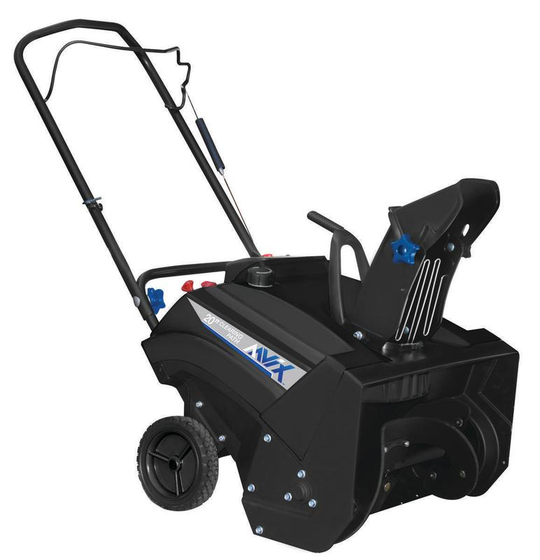AAVIX AGT1420 20-Inch Gas 87CC Powered Single Stage Snow Blower by Pulsar Products