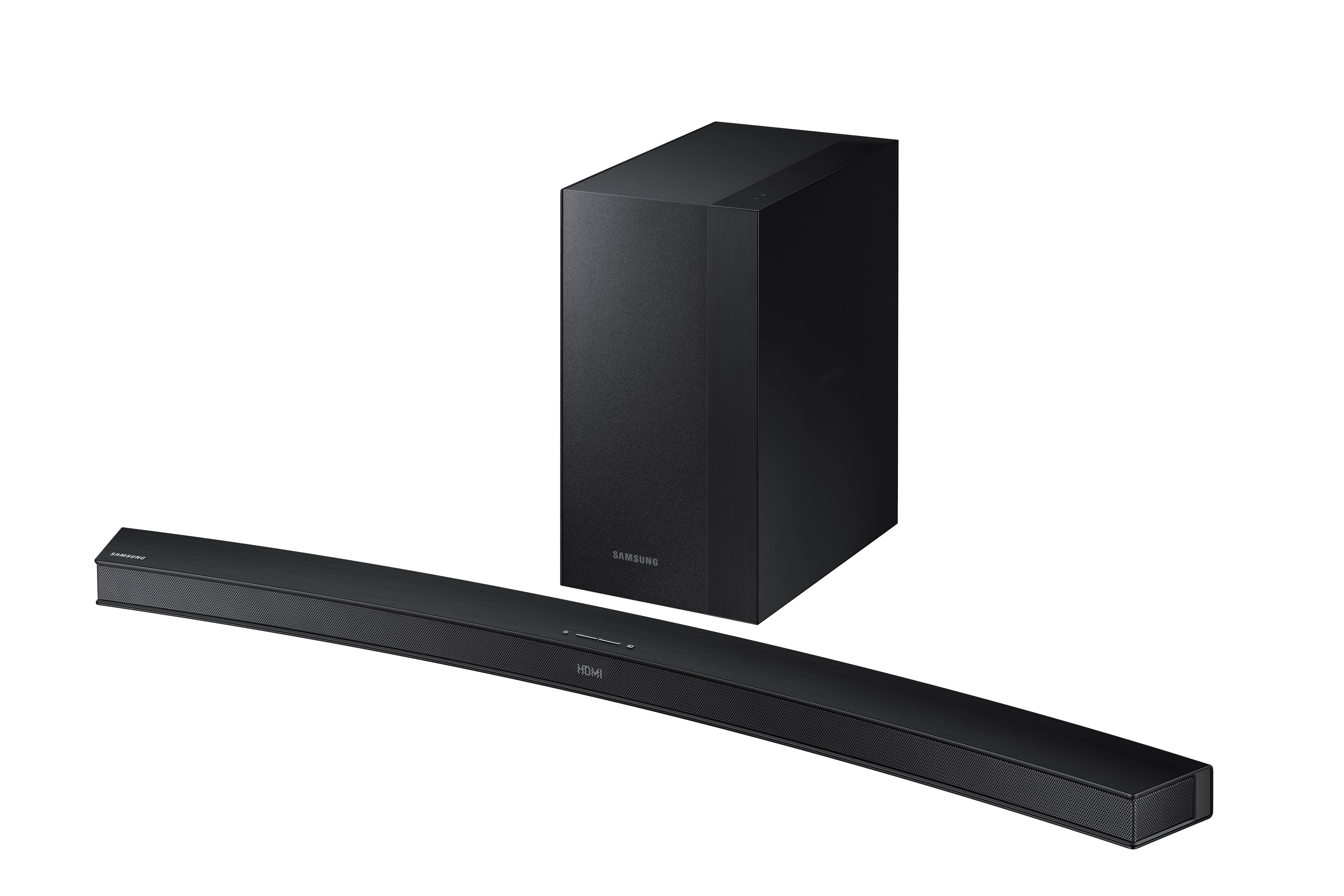 "Samsung 2.1 Channel 260W Curved Soundbar System with 6.5"" Wireless Subwoofer... by Samsung"