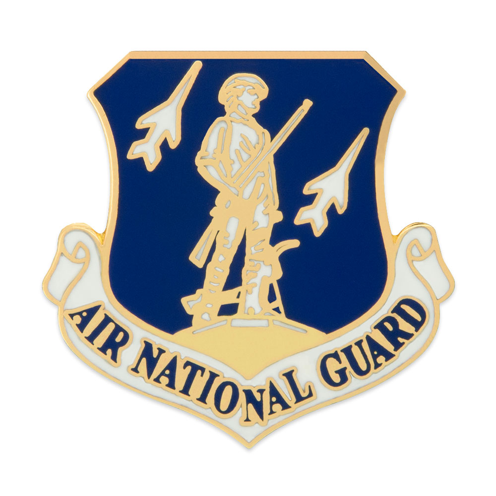 U.S. Air Force National Guard Pin - Military Lapel Pin