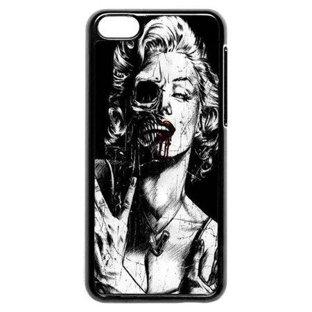 Zombie Marilyn Monroe iPhone 5c Case - Zombie Marilyn Monroe Costume