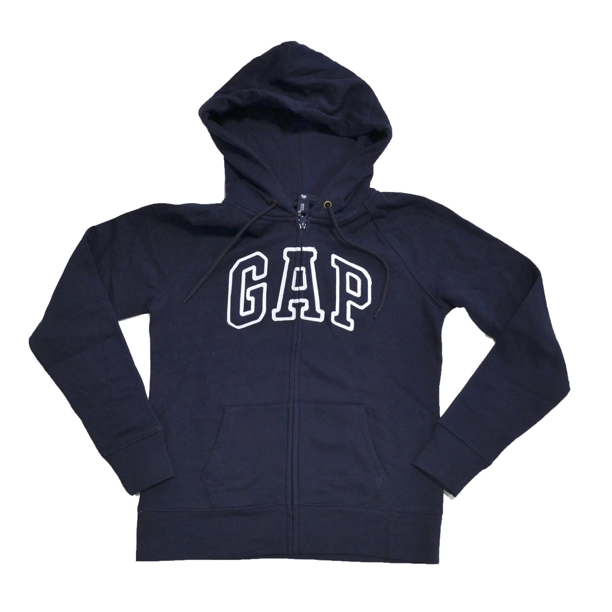 New Gap Baby Girls Logo Hoodie Choose Size