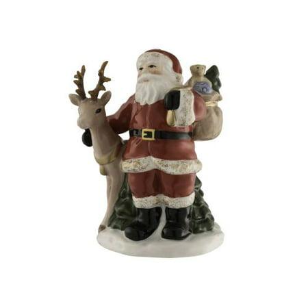 Aynsley Santa and Reindeer