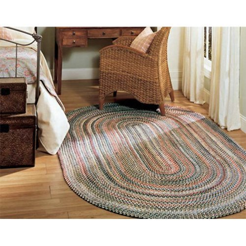 Colonial Mills Chestnut Knoll Braided Rug - Straw Bridge