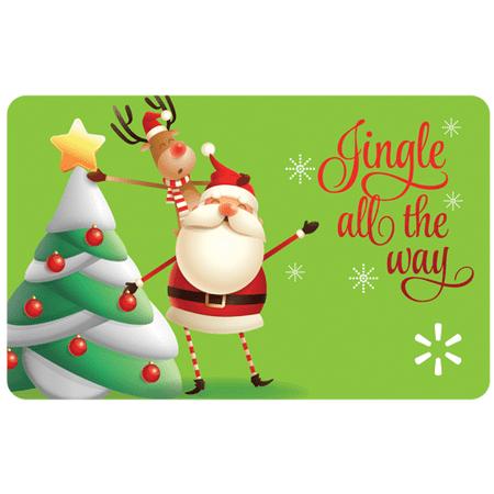 Jingle All the Way Walmart Gift Card (Gift Card Balance In My Account)