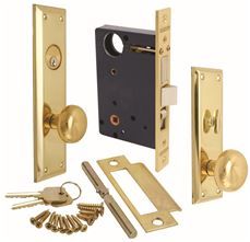 Marks Mortise Lock, Right Hand