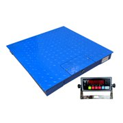 """PEC Industrial Floor Scale, Accurate Digital Warehouse Pallet Scales 2500LB/0.5LB with NTEP Certified Indicator Legal for Trade (36x36"""")"""