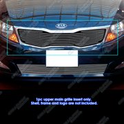 Compatible with 2011-2013 Kia Optima LX EX Main Upper Billet Grille Grill Insert K66901A
