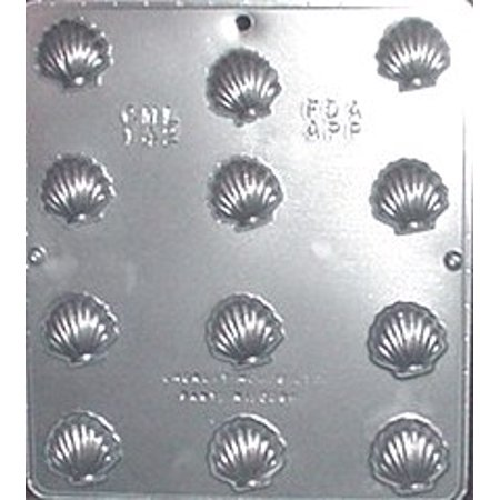 142 Small Sea Shells Chocolate Candy Mold (Tortilla Shell Molds)