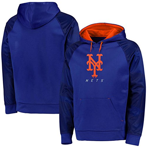 Majestic Men's Big & Tall MLB Armor II Therma Base Pullover Hooded Sweatshirt (2XT, St. Louis Cardinals) by Profile