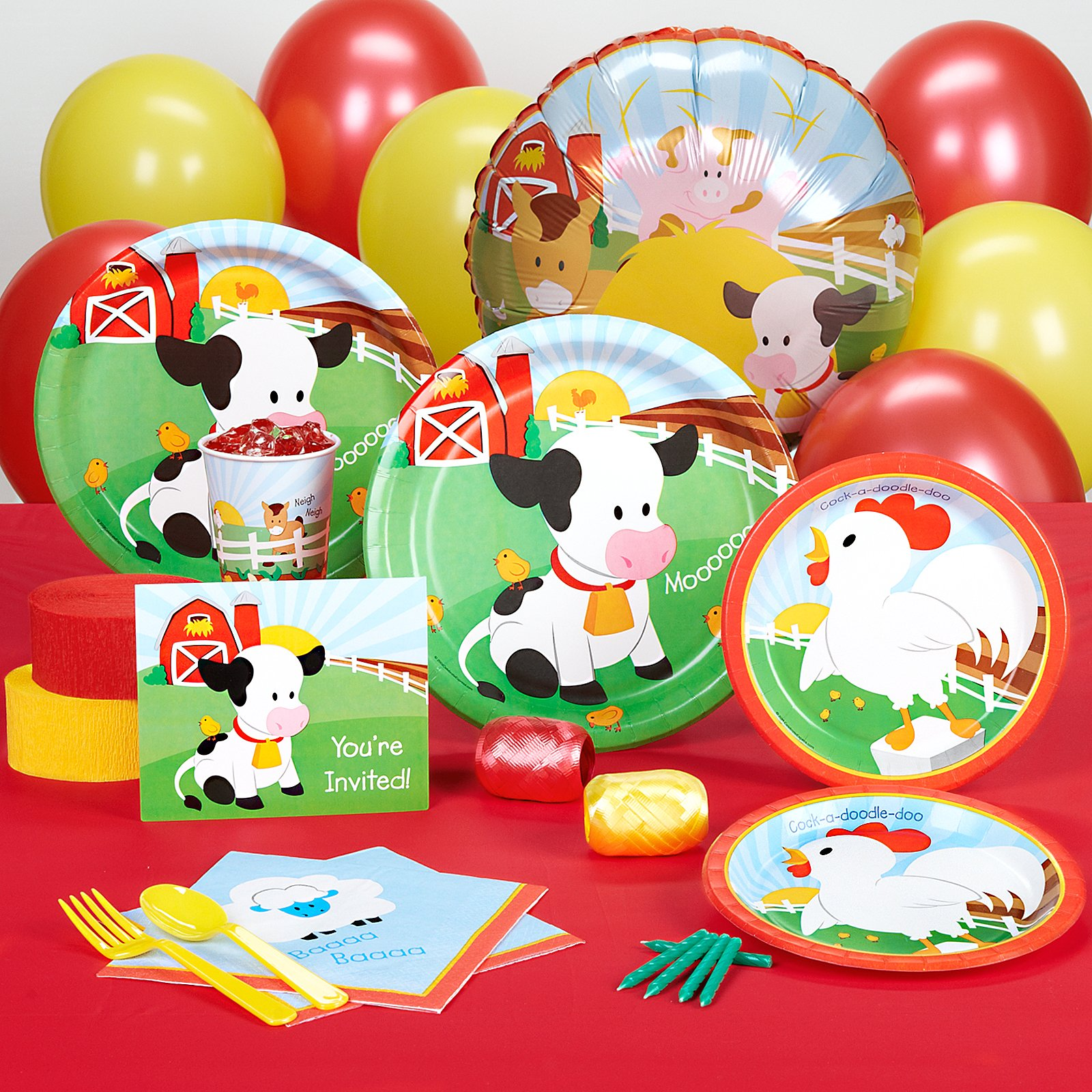 Barnyard Standard Party Pack for 8