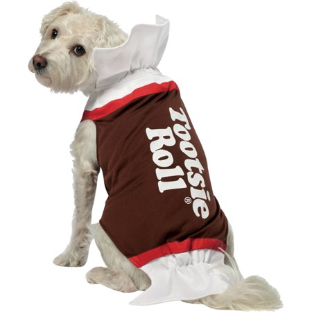 Morris costumes GC4003LG Tootsie Roll Dog Costume Large