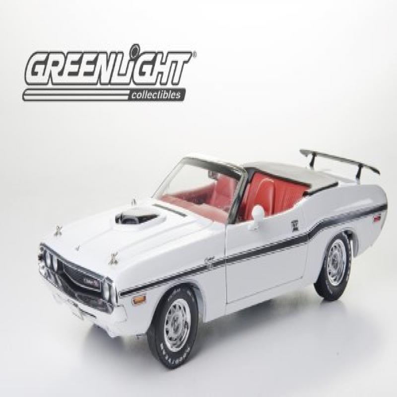 Sunstar 1970 Dodge Challenger R/T Convertible – White 1/18