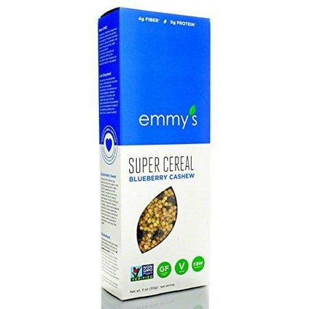 Emmy's Organics Super Cereal Blueberry Cashew - 11 oz