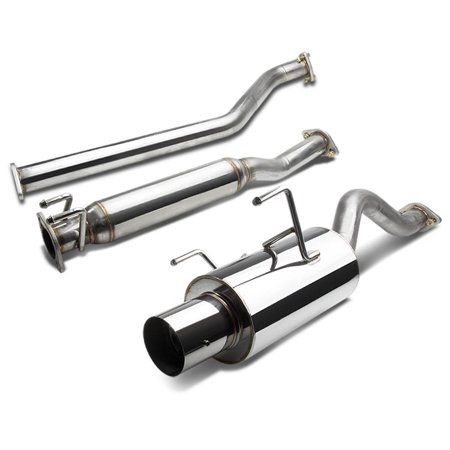 For 2002 to 2006 Acura RSX Catback Exhaust System 4