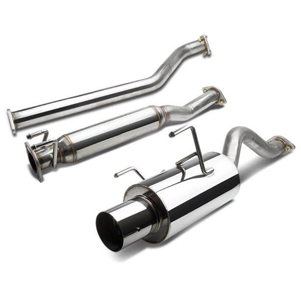 """For 2002 To 2006 Acura RSX Catback Exhaust System 4"""" Tip"""