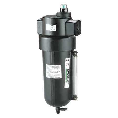 Light Pneumatic Tool Oil - SPEEDAIRE Pneumatic Oil Filter,3/4