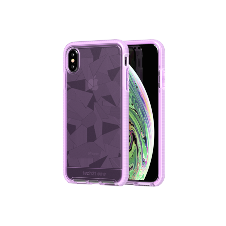 Tech21 Evo Edge for iPhone XS Max - Orchid