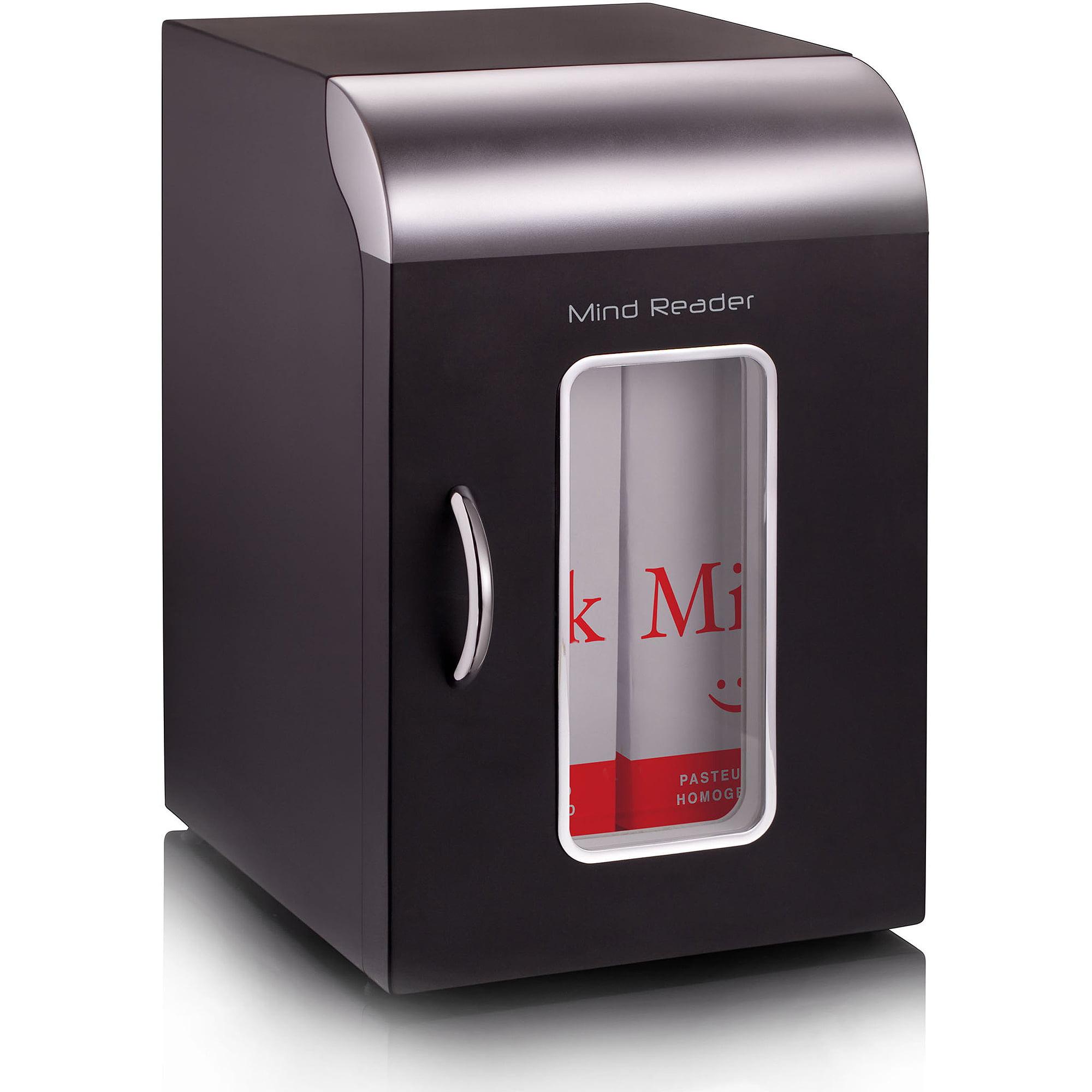 Mind Reader Mini Refrigerator, Black