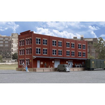 Walthers Cornerstone HO Scale Building/Structure Kit Trackside Post Office/RPO