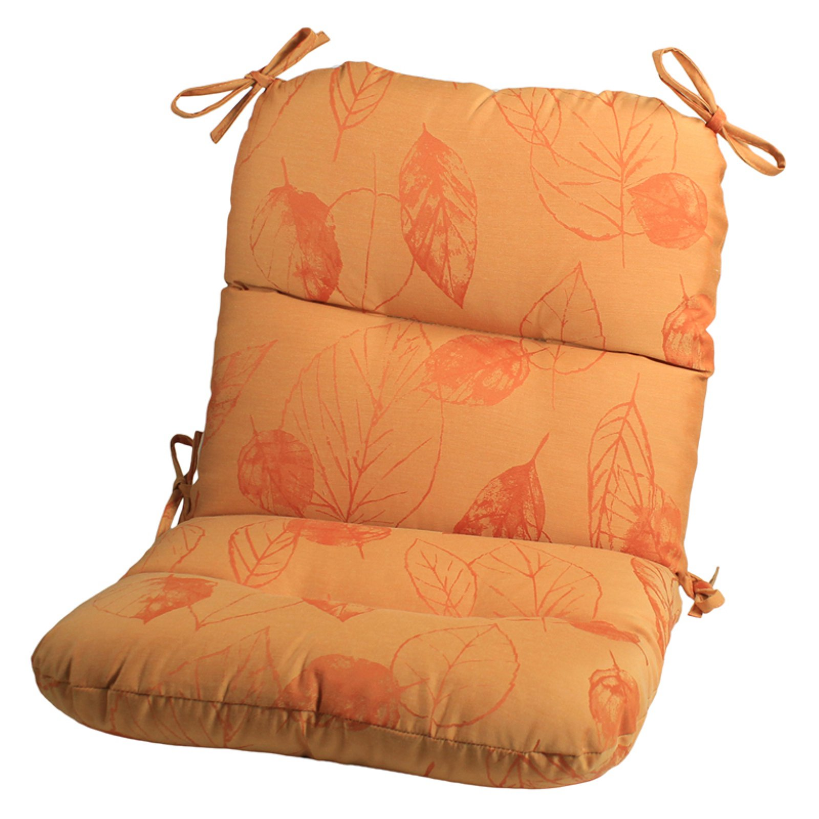 Comfort Classics Hinged Seat and Back Sunbrella Chair Cushion - Set of 4