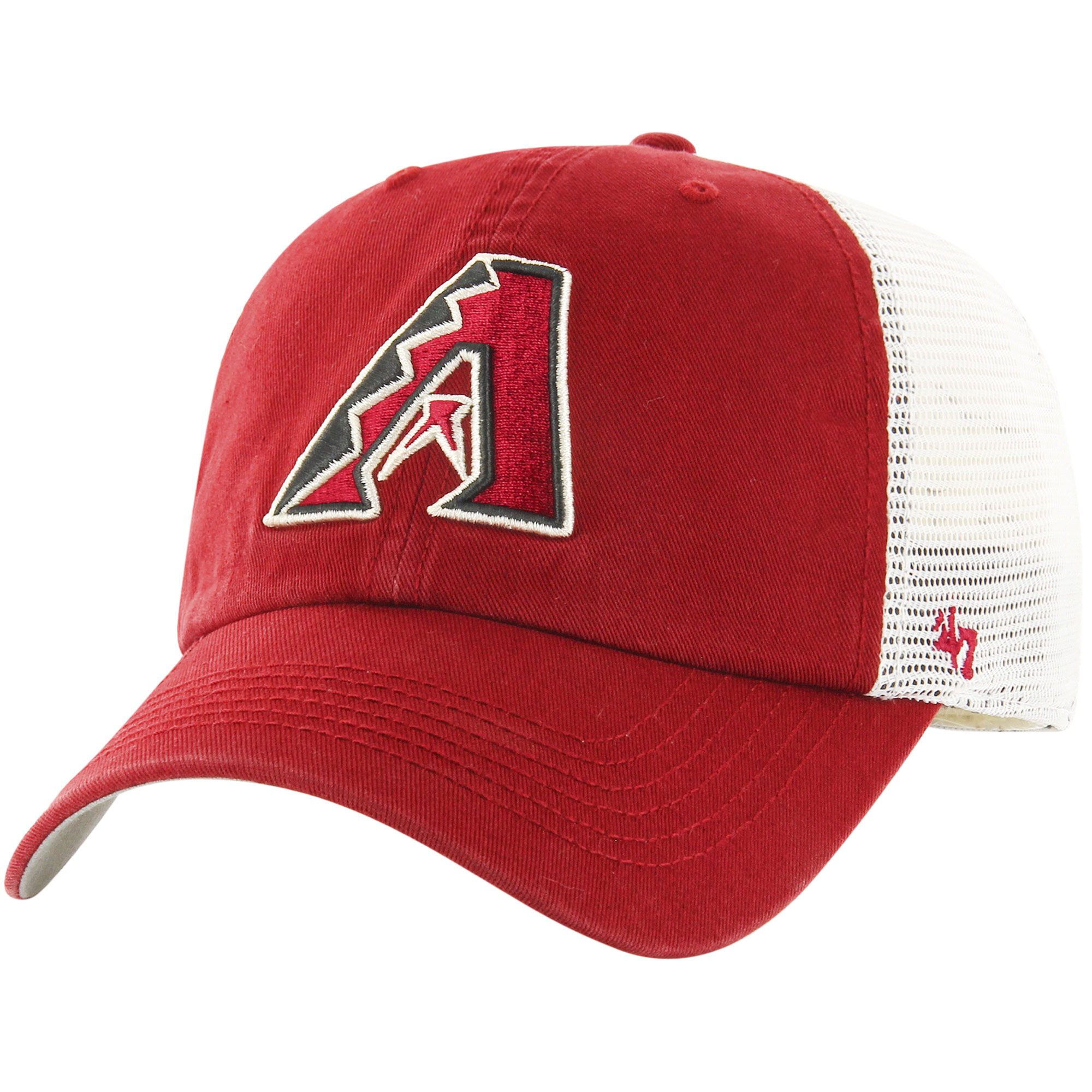 Arizona Diamondbacks '47 Blue Hill Closer Flex Hat - Red/White