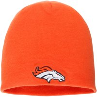 Denver Broncos NFL Pro Line by Fanatics Branded Core Uncuffed Knit Beanie - Orange - OSFA