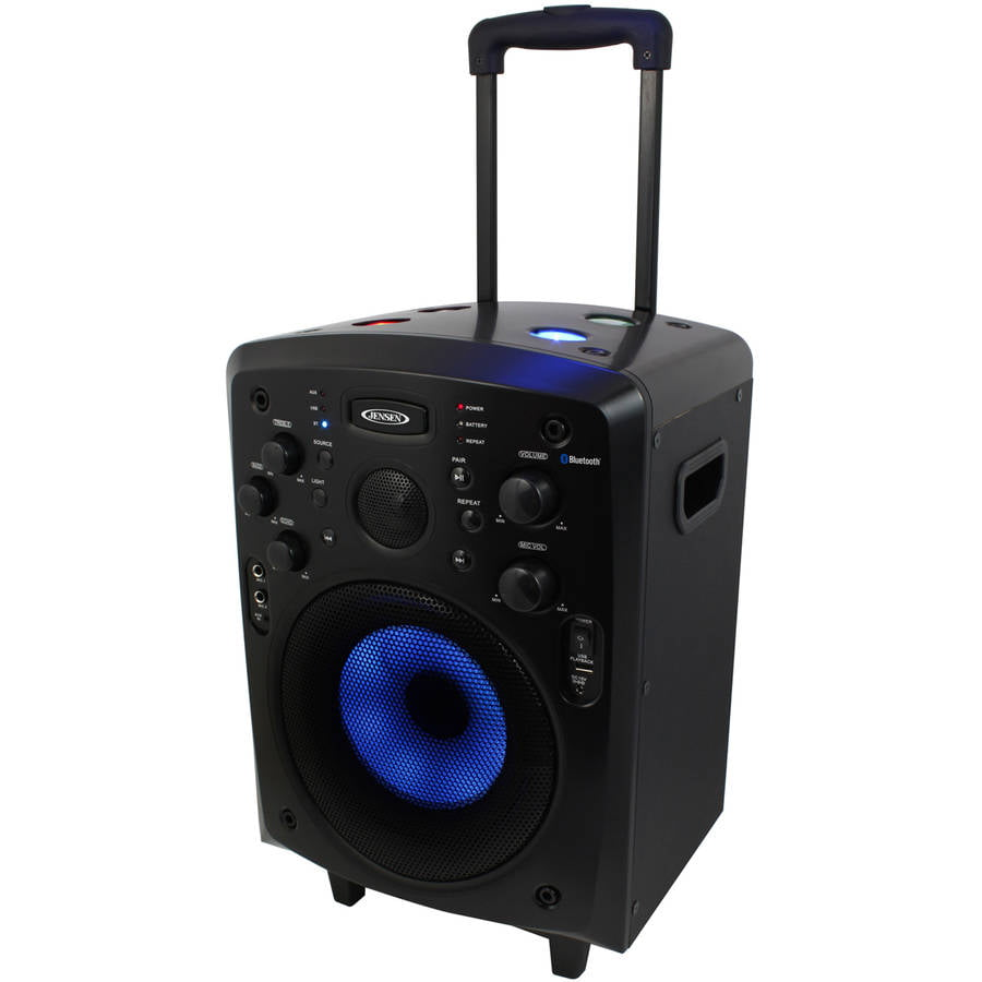 Jensen Portable Bluetooth Tailgate Trolley Speaker by Jensen