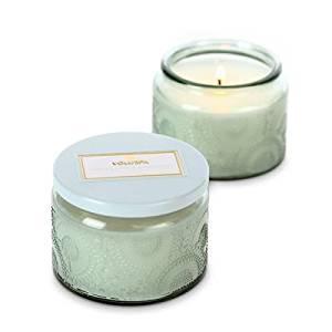 Voluspa Apricot (Voluspa French Cade & Lavender Limited Glass Candle 3.2 oz )