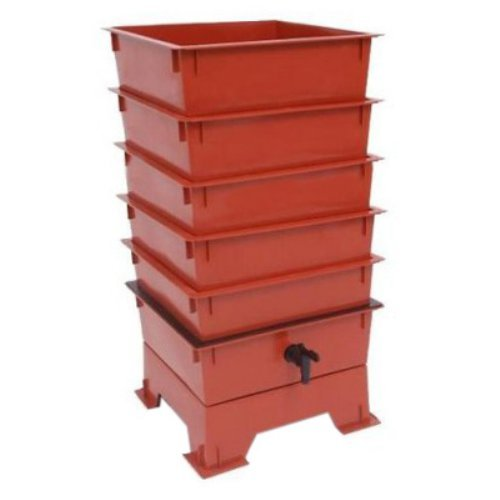 The Worm Factory® 5-Tray Worm Composter - Terra Cotta