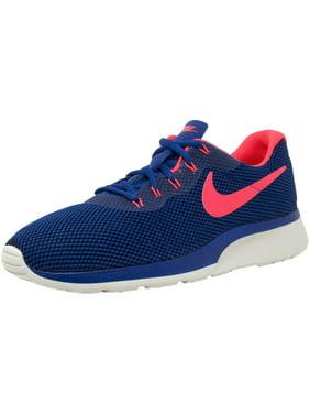 433faab75fe Product Image Nike Men s Tanjun Racer Gym Blue   Solar Red - Light Bone  Ankle-High Running