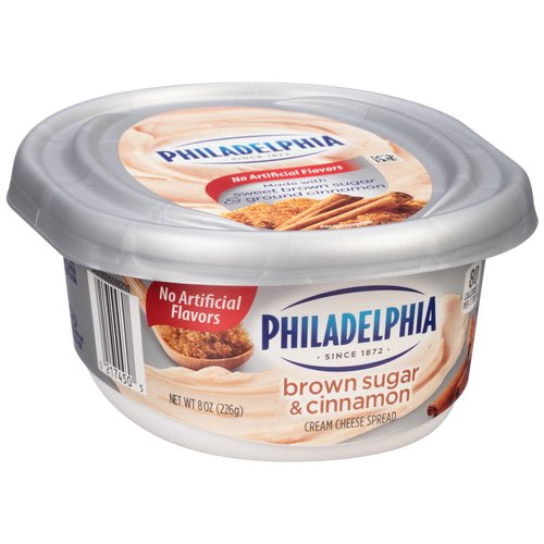 Philadelphia Brown Sugar & Cinnamon Cream Cheese Spread, 8 oz