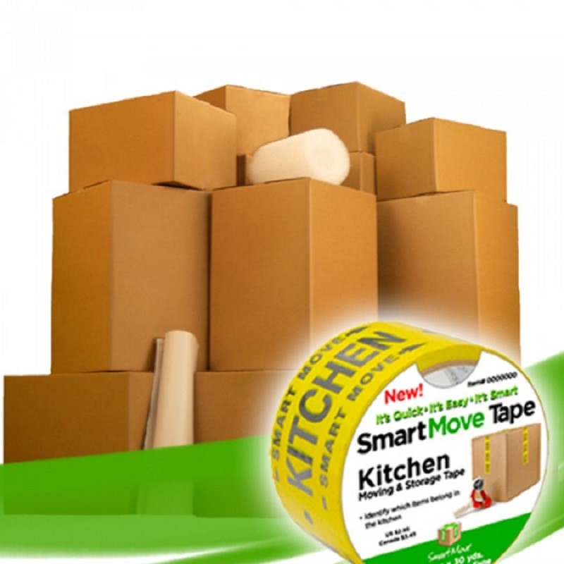 Uboxes 2 Room Bigger Moving Kit, 28 Boxes, Moving & Packing Supplies