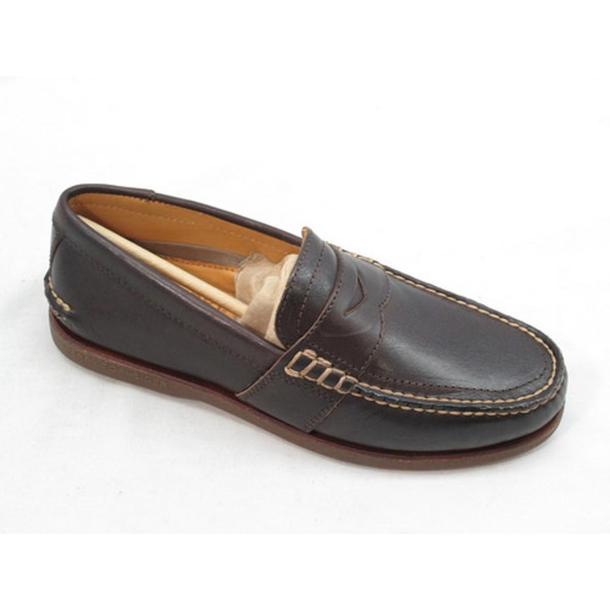 Sperry Top-Sider Men's Gold A/O Penny Brown Slip-On Loafer