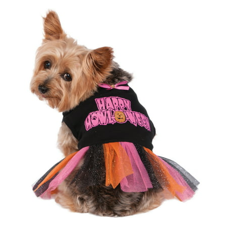 Happy Halloween Pet Dog Cat Halloween Costume Tutu Dress](Happy Halloween Cute Pets)