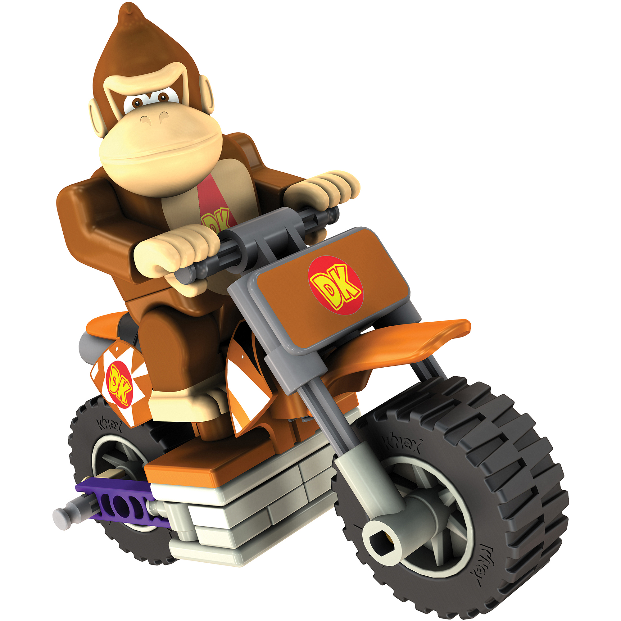 K'NEX Mario Kart Wii Building Set: Donkey Kong with Standard Bike