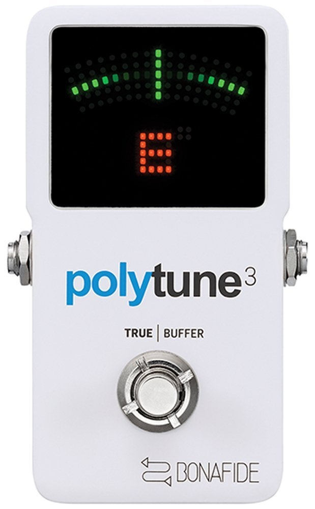 TC Electronic PolyTune 3 Polyphonic LED Guitar Tuner Pedal w Buffer by TC Electronic
