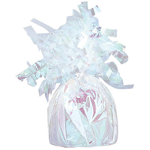 Foil Balloon Weight, Iridescent, 1ct