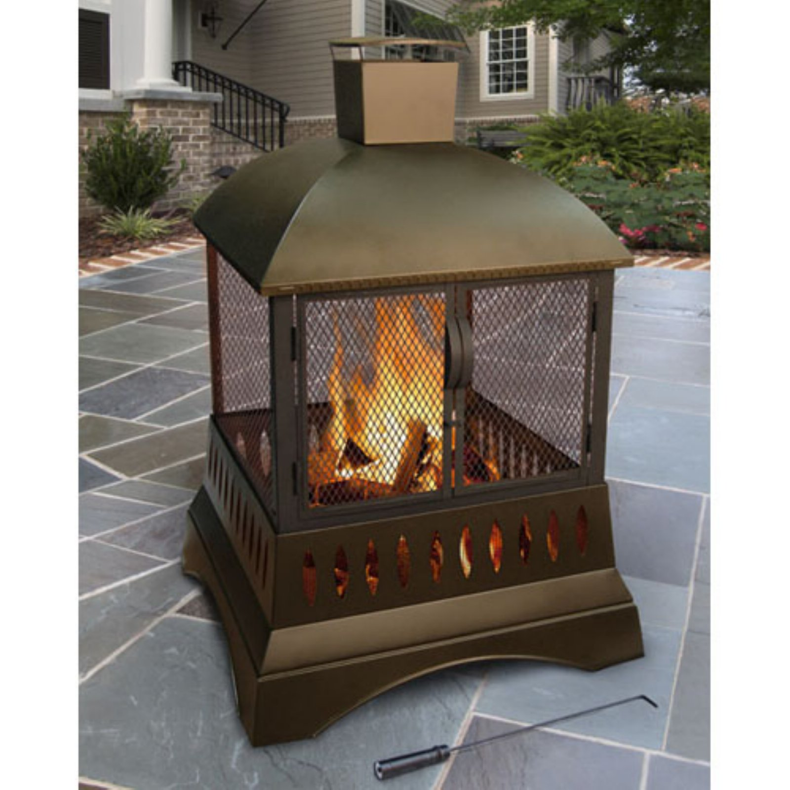 Landmann Grandezza Wood Burning Outdoor Fireplace by Landmann USA