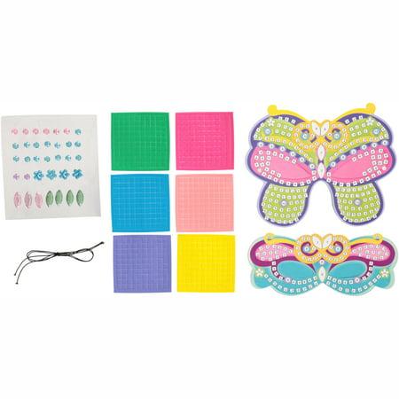 Small World Creative® Mosaic Foam Masks™ Craft Set 638 pc -