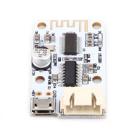 Garosa Mini Digital Amplifier Board USB Power Supply 3W+3W Bluetooth Audio  Receiver for Speake, Power Amplifier Module, Audio Amplifier Board