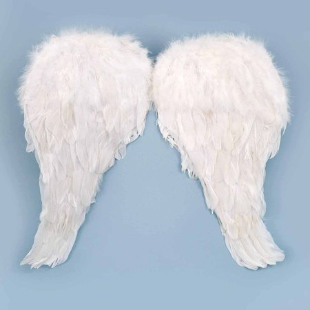 Soft Feather Angel Wings Child Halloween Accessory - Fallen Angel Wings Halloween