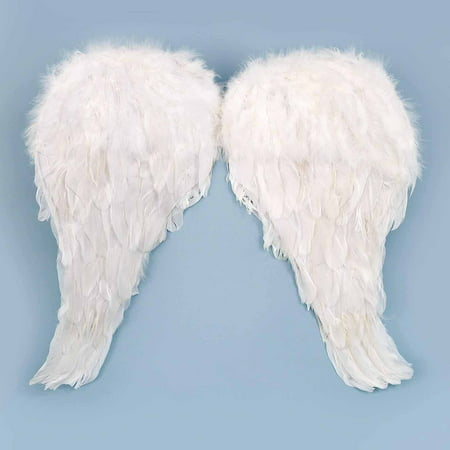 Soft Feather Angel Wings Child Halloween Accessory
