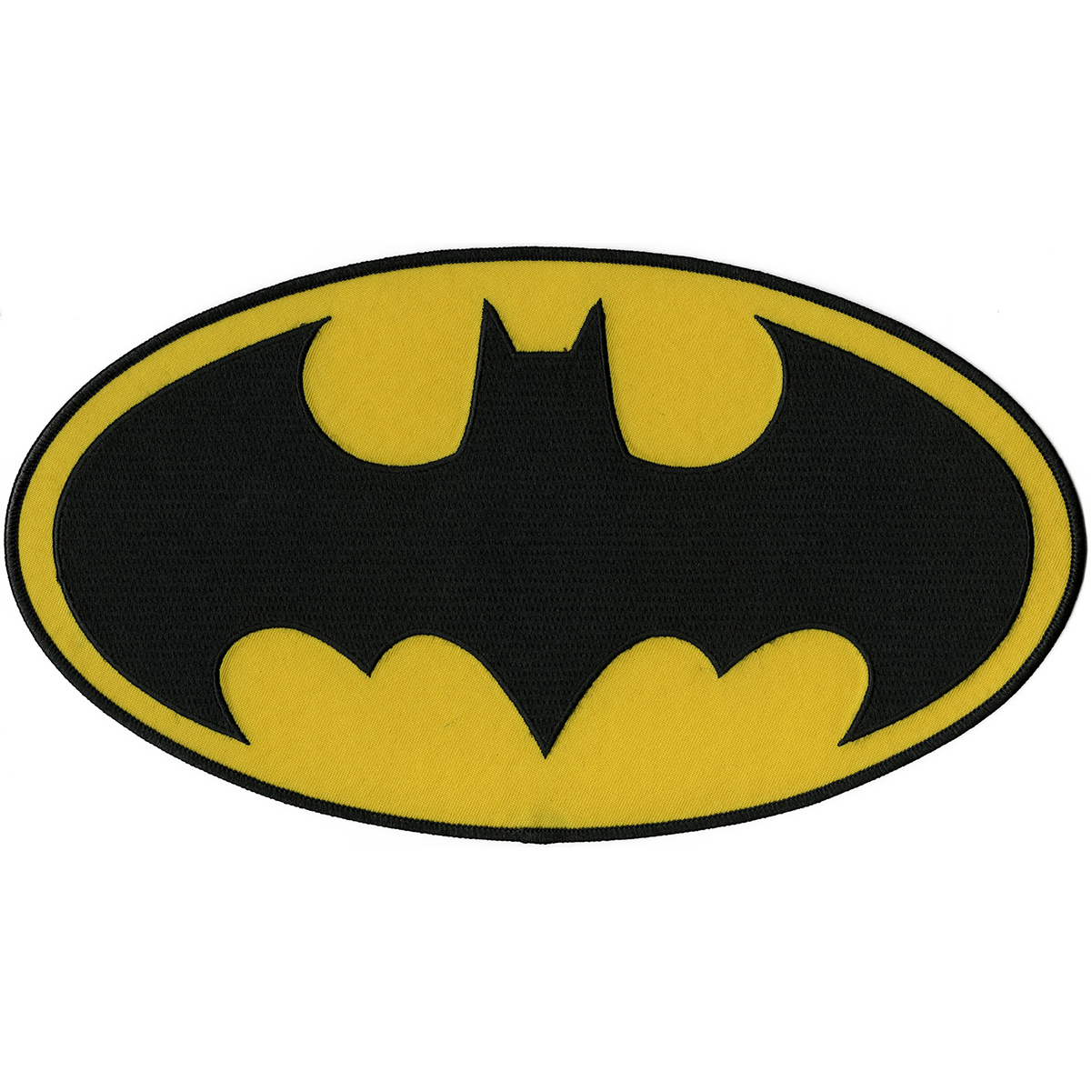 "C&D Visionary DC Comics Patch-Batman Insignia 6.75""X12"""