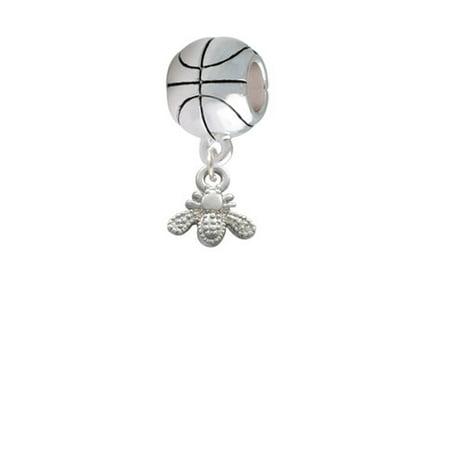 Mini Bee - Basketball Charm Bead - Bee Charms