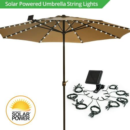 - Solar Umbrella String Lights - Walmart.com